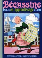 Couverture Bécassine en apprentissage