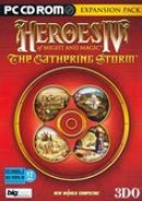 Jaquette Heroes of Might and Magic IV : The Gathering Storm