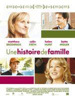 Affiche Une histoire de famille