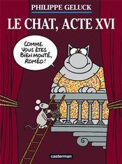 Couverture Le Chat, acte XVI - Le Chat, tome 16