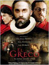 Affiche El Greco, les ténèbres contre la lumière