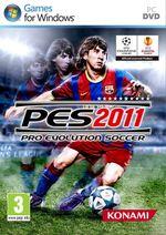 Jaquette Pro Evolution Soccer 2011