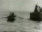 Affiche Barque sortant du port