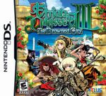 Jaquette Etrian Odyssey III : The Drowned City
