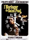 Affiche L'Horloger de Saint-Paul