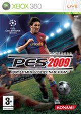 Jaquette Pro Evolution Soccer 2009