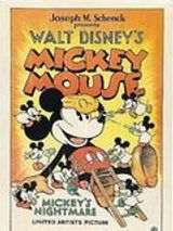 Affiche Le Cauchemar de Mickey