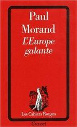 Couverture L'Europe galante