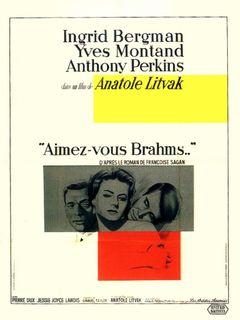 Affiche Aimez-vous Brahms...