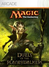 Jaquette Magic : The Gathering - Duels of the Planeswalkers