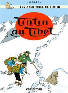 Couverture Tintin au Tibet - Les Aventures de Tintin, tome 20