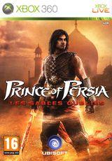 Jaquette Prince of Persia : Les Sables oubliés