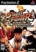 Jaquette Street Fighter Anniversary Collection