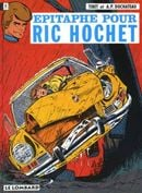 Couverture Épitaphe pour Ric Hochet - Ric Hochet, tome 17