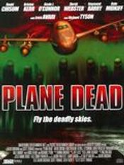 Affiche Des zombies dans l'avion