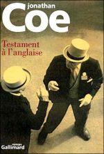Couverture Testament à l'anglaise