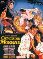 Affiche Capitaine Morgan