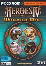 Jaquette Heroes of Might and Magic IV : Winds of War