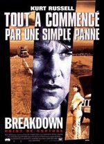 Affiche Breakdown, point de rupture