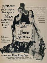 Affiche Le Baron de l'Arizona