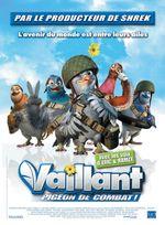 Affiche Vaillant, pigeon de combat !