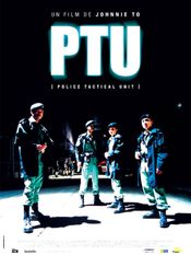 Affiche PTU (Police Tactical Unit)
