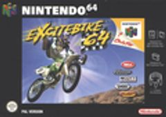 Jaquette Excitebike 64