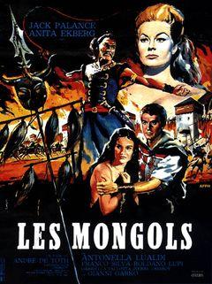 Affiche Les Mongols