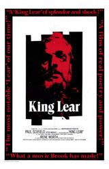 Affiche King Lear