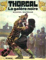Couverture La Galère noire - Thorgal, tome 4