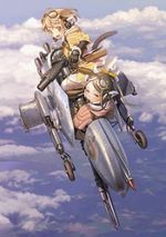 Affiche Last Exile - Ginyoku no Fam