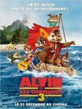 Affiche Alvin et les Chipmunks 3