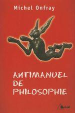 Couverture Antimanuel de Philosophie