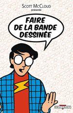 Couverture Faire de la bande dessinée