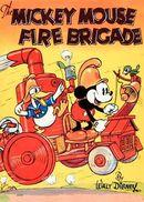 Affiche Mickey Pompier
