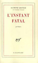 Couverture L'instant Fatal