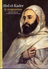 Couverture Abd el-Kader le magnanime