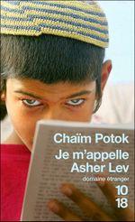 Couverture Je m'appelle Asher Lev