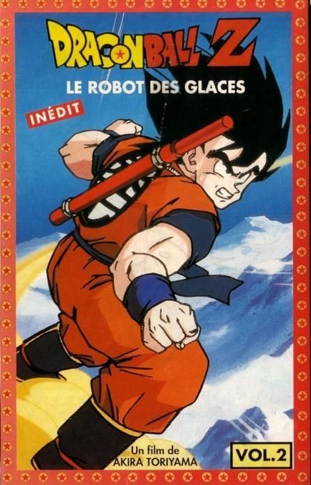 dragon ball z le robot des glaces