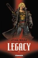 Couverture Tatooine - Star Wars : Legacy, tome 7