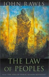 Couverture The law of peoples
