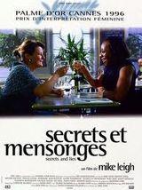Affiche Secrets et Mensonges