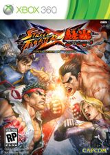 Jaquette Street Fighter X Tekken