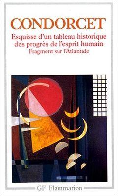 Couverture Esquisse d'un tableau historique des progrès de l'esprit humain