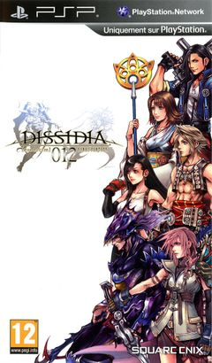 Jaquette Dissidia 012: Final Fantasy