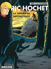 Couverture La Dernière Impératrice - Ric Hochet, tome 71