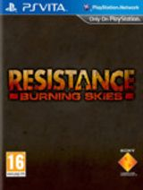 Jaquette Resistance : Burning Skies