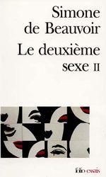 Couverture Le Deuxième Sexe - Partie 2