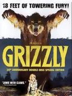 Affiche Grizzli, le monstre de la forêt