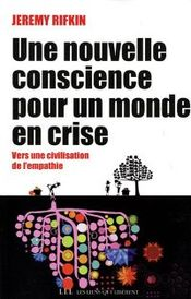 Couverture Une nouvelle conscience pour un monde en crise